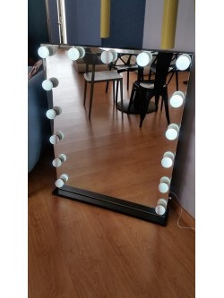 Miroir Hollywood Black Star