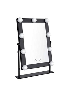 MIROIR HOLLYWOOD BLACK