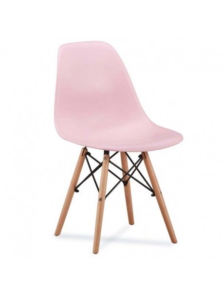 Chaise SCANDINAVE PINK