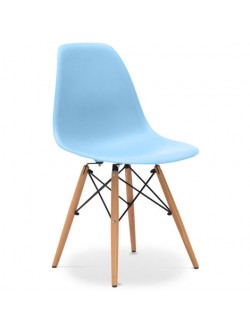 Chaise SCANDINAVE Bleu